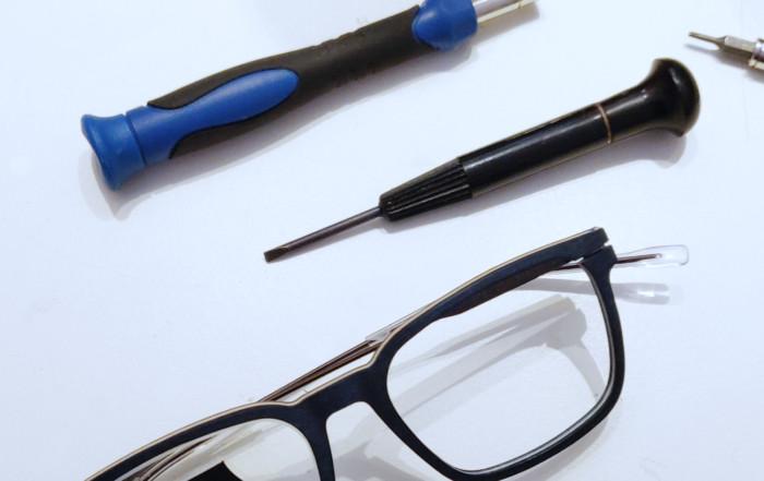 Manutenzione degli occhiali